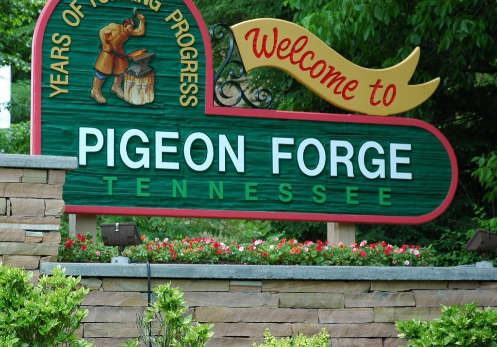 PigeonForgewelcomesign